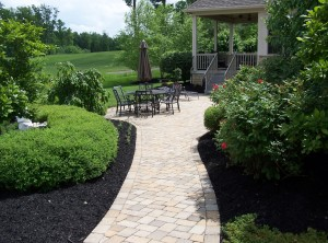 Paver walkways, paths, and patios