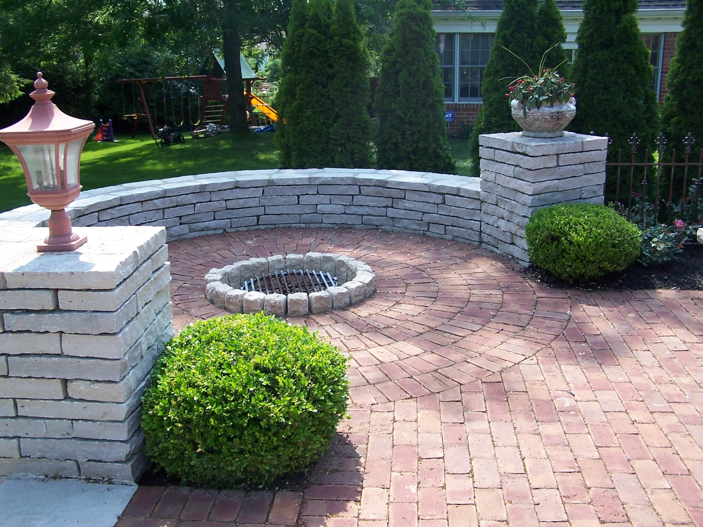 Paver patio fire pit Delaware
